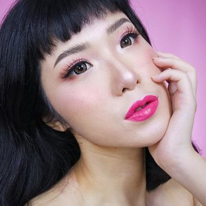 Feathery Brows & Fresh Pink Look💕.Product Used:❤#benefitbrows Ka-Brow Cream-Gel Brow 4❤#benefitbrows 3D Browtones Subtle Brow-Enhancing Highlights 4.@benefitindonesia#TeamAbel #BrowBeachCampSea