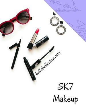 Swipe to see my #onetonemakeup . Do you know that someone real beauty its hard to find from their appearence? . But, maybe we are all will agree if i say that someones appearance is everythings! . Cut your time to do makeup with this makeup items from @sk7_beautycare all this product will be soon ready @makeupuccino . Reviews about this you can find on my blog. Please kindly visit www.bellabellezhee.com for more. . #BeautygoersxSK7 #BeautygoersxMakeupuccino #SK7Beautycare #BeautygoersID . #Clozetteid #beauty #makeup #review #motd
