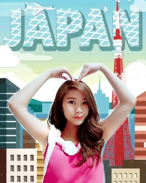 My favorite asian country afterall would be Japan!! Known for its discipline people, lifestyle and fresh, tasty food (SUSHI!!!) i could spend the most qualified and unforgettable time there!  Here i am  with  one of Japan's landmarks,  Tokyo Tower effect from @beautyplus_id ! (DAY 1) 😍 Hope my luck works wonder this time. What a creative innovation! #BeautyPlusTurJP #BPJPTour 💕 . . @vanessaosazee @felistiakarmelia @chaacen . #lifestyle #japan #clozetteid