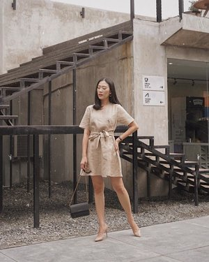 so much love with neutral colors ✨ — mara tua dress from @bchy.official