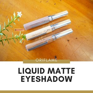 NEW POST IS UP 🚀Review & Swatch @id.oriflame LIQUID MATTE EYESHADOW ...Tidaq geser,tahan air,sangat long lasting,but why variant warnanya sangat limited 😆...Cocok untuk yang mau dandan cepet dan nggak suka ribet ngblend eyeshadowSuit for daily basis and office look. ...Go check them out on my blog www.akucantikkk.com...#BaliBeautyBlogger #oriflameid #liquideeyeshadow #eyeshadoworiflame #clozetteid