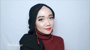 Have a great Friday y'all 🍒Press play and enjoy this video ya, siapa tau ngasih inspirasi makeup dan hijab kamu untuk hang out sore nanti....Products used:- @maybelline baby pore eraser primer- @thebodyshopindo Clay Mate Foundation- @revlonid Face Powder- @anastasiabeverlyhills Modern Renaissance Eyeshadow Palette- @wardahbeauty Eyeliner - @artisanpro False Lashes- @wetnwildbeauty Megaglo Contour Palette- @lakmemakeup Moon Lit Highlighter- @maxupcosmetics Lipcream Cherry-O..@tampilcantik @indobeautygram @indobeautysquad @benefitindonesia  @clozetteid #clozetteid @undiscovered_muas @beautybloggerindonesia  #beautybloggerindonesia #indobeautygram #indobeautyvlogger #tampilcantik #indobeautysquad #hijab #hijabers #makeuphijab #makeuptutorial #makeup #makeupblogger #lakme #clozetteid #beautyvlogger #beautyvloggerindonesia #undiscovered_muas
