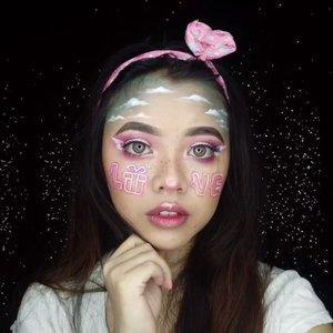 I've never celebrated valentine's day. But, here's my valentine's inspired makeup look 💓 The 'LOVE' fonts inspired by @pubg @pubgmobile valentine's day special 💖 #diFACEbeauty #makeupbydifa #gengbvlog ・・・ @indobeautygram #valentinesmakeuplook #valentinesdaymakeup #valentinesday #valentinesdaymakeupinspiration #indobeautygram #bvloggerid #indobeautysquad #beautyvlogger #beautybloggerindonesia #indomakeupsquad #setterspace #beautygoersid #beautychannelid #100daysmakeupchallenge #bunnyneedsmakeup #hypnaughtymakeup #wakeupandmakeup #makeuptutorialsx0x #xmakeuptutsx #clozetteid #clozette