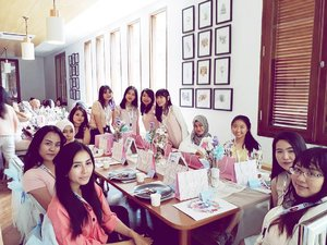 Girls 🌸 #feedmebeautydiary #feedmexelle#clozetteid . . . . #event#beautyevent#beautytalkshow#like4like#girls#girlsday#asiangirls#pastel#pasteldresscode