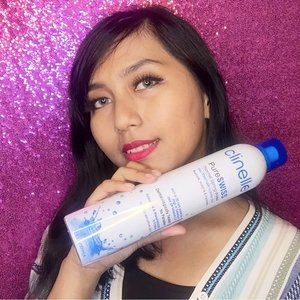 Spray spray from head to toe with @clinelleid PureSwiss Thermal Spring Water!! It can repair, refine and reshield you skin in one spray  Dermatologically tested  Skin ph balance  No paraben  Bisa buat kulit sensitive 😍  #Clozetteid #Skincare #ClinelleXClozetteIdReview #ClozetteIdReview #ThisIsNotJustAnOrdinaryWater #CinelleIndonesia #ibs #beautyvloggerid #muajakarta #muaindonesia #skincare #diymasker #maskeraddict #indobeauty #beautylosophy #makeuplooksworldwide #indobeautygram #indobeautysquad #beautiesquad #setterspace #beautychannelid #charisceleb #clozetteid @charis_celeb @hicharis_official @indobeautysquad @beautyblogger.id @beautybloggerindonesia @bvloggerid @beautytalk_indo @beautilosophy @inspirasimakeup.id @clinelleid @clozetteid