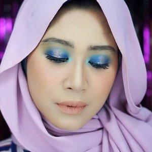 Blue blue blue 💙💙💙 #clozetteid #makeup #smokeyeyes