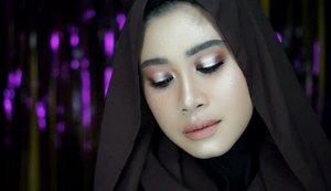 tutorialnyaa besok yaaa mantemaaan..hohoho.. #clozetteid #makeup #haloeyeshadow #haloeyes