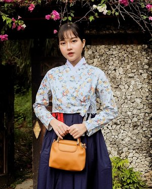 A woman can be over dressed, but never over elegant - modern hanbok by @house_of_gi ❤ #collabwithchen #clozetteid