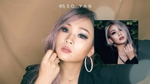 Hellooo wait for long time?Many people commented right answers❤️Yes it's CL @chaelincl cover makeup❤️Try see how i we're transforming😎-Product info.• @maybelline The Rock Nudes• @mistine_official Maxi Black• @catrice.cosmetics Inside eye Khol Ka Jal• @wardahbeauty Eyebrow pencil Brown• @catrice.cosmetics Sun glow Matt Bronzing powder• @heroinemake Long lash mascara• @beccacosmetics champagne• @toofaced Melted matte