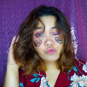 Recreate makeup look @awkarin 💕 . . . YES or NO ? . . . Product details : Mousturizer @npureofficial Facemist @pixycosmetics  Primer @eminacosmetics  Foundation @maybelline Loose powder @riveracosmetics Eyeliner @absolutenewyork_id Blush @eminacosmetics  Countour @nyxcosmetics_indonesia  Eyeshadow @nakedcosmetics @mazaya_kosmetik_ @mizzucosmetics  Lipstick @poppydharsonocosmetics @posybeauty.id  Highlighter canggu @rachgoddard x @mizzucosmetics  Softlens @x2softlens . . . . #recreatemakeuplook #awkarinmakeuplook #awkarin #bunnyneedsmakeup #beautyranger @beautyranger.id @bunnyneedsmakeup #tampilcantik @tampilcantik #indobeautygram @indobeautygram #bvloggerid @bvlogger.id #indobeautysquad @indobeautysquad #beautychannelid @beautychannel.id @beautycollabgram #beautycomunita @beautycomunita #beautygoersid @beautygoers #beautynesia @beautynesia.id #makeuphasnosize #makeupwakeup #makeupreview #makeuptutorial #bloggermafia @bloggermafia #ClozetteID #clozette @clozetteid #BeautyblenderID #linerandbrowsss #fakeupfix
