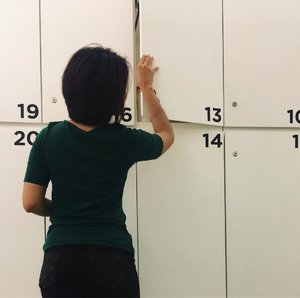 Yeay today I get 13 , some people says it was a bad number. But how about you ? Do you believe it ? #clozetteid #locker #behealthywithmelgib #staystrong #staybeauty #bepositive #curve #happy #happywoman #number #13