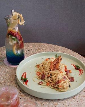 Always been my favorite menu at @unisoncafe 💕 . . . #exploretocreate #shotbystevie #stevieculinaryjournal #foodie #yummy #clozetteid #pasta