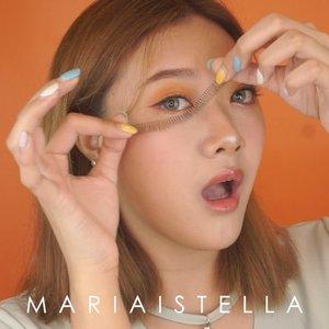 This is how I get my natural long lashes WITHOUT getting an eyelash extension ! ❤️ Nihh yang suka pada nanya aku eyelash extension atau engga. Jawabannya NOPE ! ❌ #mariaistellabeautyvid . . . . . . . . . . . . . . @indobeautygram @bvlogger.id @indovidgram  #IVGbeauty #indobeautygram #indovidgram #beautymood #asianvlogger #clozetteid  #makeupartist #mua #instamakeupartist  #makeuppower #beautyaddict #eotd #makeuptutorial#wakeupandmakeup #featuremuas #undiscovered_muas #beautyblogger #beautyvlogger #youtuber #indonesianyoutuber #beautyvideo #makeuptutorial #skincare @awesomemakeu.p @makeup_up #powerofmakeup @powerofmakeup @limitart @tampilcantik #tampilcantik #sonyforher @sonyforher #limitart