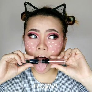 Maap kan daku yg tak biasa natural 😬😂💕💞 Tutorial lope lope 😹 . Product i used : @humphreyskincare.official Gold serum @fanbocosmetics Pensil alis @eminacosmetics Pore Ranger @revlonid Colorstay Full Cover @makeoverid Powerstay Powder @beautycreations.cosmetics Contour palette @mineralbotanica Blush Berry @thesaemid Concealer @beautyglazed Eyeshadow tray @makeoverid Lipcream 014 @sleekmakeup Highlighter @the.flashes Poppy . . . . . . . . . . #makeup #makeuptutorial  #wakeupandmakeup #tutorialmakeup #flovivi #makeupvideo #inspirasicantikmu #muajakarta #makeupoftheday #makeupforbarbies #mua  #100daysofmakeup #slave2beauty #allmodernmakeup #beautybloggerindonesia #tampilcantik  #clozetteID #ivgbeauty #bunnyneedsmakeup #makeuptutvid #tutorialmakeuplg #ragamkecantikan #cchannelbeautyid Jangan nyolong hashtag dong🙅🏻‍♀️ 🌺🌺🌺 @beautybloggerindonesia @bunnyneedsmakeup @cchannel_beauty_id @beautilosophy @tampilcantik @indobeautygram @bvlogger.id @indovidgram @tips__kecantikan @wakeupandmakeup @bloggermafia @setterspace @popbela_com @zonamakeup.id @ragam_kecantikan @inspirasi_cantikmu