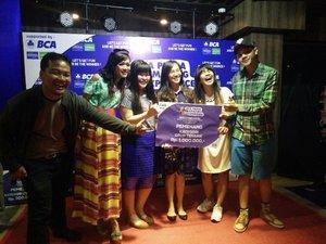 Keseruan Amazing BCA Prima kemarin menghasilkan kami mendapat grup terbaik  😜 9fb101cf8e