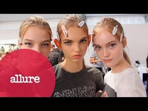 The Look of Prada Spring 2015 - Allure - YouTube