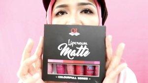 Morning... Ini dia nih,  6 warna yang kece-kece dari lipcream matte @qlcosmetic colourfull series. Untuk review lengkapnya langsung aja lihat di YouTube channel aku yaa,  link ada bio. @qlcosmetic_online@kbbvbyacb#qlcosmetic #qlkosmetic #qlamazing #qleyebrowcream #qllipcreammatte #qlfashioneyeliner #qleyeliner #eyebrowtutorial #kosmetikIndonesia #makeup tutorial #kbbvxqlcosmetic2 #kbbvproject #kbbvmember #makeupbyedelyne#makeupartist#beautyblogger#beautyvlogger#influencer #blogger #bloggerstyle #lipstickoftheday #clozetteid #starclozetter #makeup