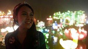 The lights 💖 . . . #ClozetteID #Travel #LampionGarden #BatuNightSpectacular #Castle #BatuMalang #ExploreMalang #ExploreBatuMalang