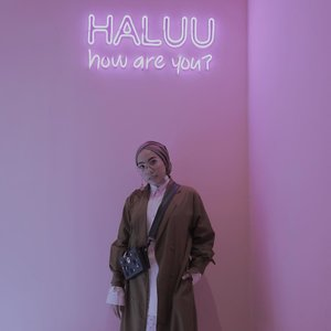 Too many instagramable spot at @haluuworld - An Instagramable Exhibition at Plaza Indonesia. Halu banget sampe nggak pengen pulang 💕 . Thanks @lulut_m for last night also @triesseptian for helping me taking all my pict 😍 . . . #haluubanget #clozetteid #haluuworld #haluubangetwithTFT #ladyuliastyle