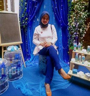 A negative mind will never give you a positive life. 💙🍃 #Beautynesia #Beautynesiabloger #ClozetteID #Bloggerperempuan #blue #Revanisanabella #bluejasminerestaurant #beautyrangerid #beautygoers