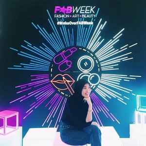 Attending @makeoverid Fab Week 2018 with @beautynesia.id Thankyou! 😘#MakeOverFABWEEK#MakeOverID#MakeOverXBeautynesia#clozetteid