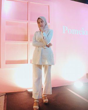-Create YOURS ! So much fun tonite attending #PomeloFall18 💃🏻-#TRYPOMELO and create your style @pomelofashion @clozetteid #ClozetteID