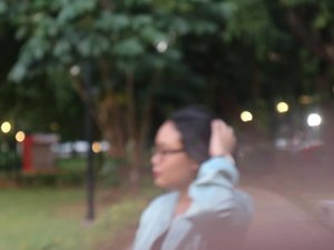 Mood : Blur 🙃...#photo #clozette #ClozetteID #lookbook #park #jakarta #indonesia #girl #alone #blur #fashion #jacket #look #like #love #miss #need #mood