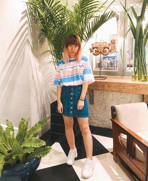 Because pink x blue is my color 💖 My hair is longer now 😆 #japobsOOTD . . . #clozetteid #fashionblogger #fashionblog #ootdindo #ootd #lookbookindonesia #cgstreetstyle #kstyle #koreanstyle #streetfashion #outfitoftheday #styleinspiration #styleblogger #kawaiifashion #패션 #패션스타그램 #오오티디 #스트릿패션 #今日のコーデ #今日の服 #コーデ