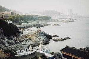 "The view from ""The Best Beautiful Temple in Korea""- Haedong Yonggungsa Temple in Busan 🤗 In case you haven't read the blog, simply click link in bio 😬 #BigDreamerInKorea #bigdreamerblog . . . #clozetteid #travelblogger #haedongyonggungsatemple #busan #explorebusan #ktoid #koreatrip #explorekorea #koreatravel #busantrip #haedongyonggungsa #indonesiantraveler #부산 #부산여행 #해동용궁사 #여행에미치다 #여행스타그램 #여행 #旅行 #旅行記 #旅行大好き #韓国旅行 #韓国"