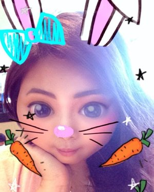 Say hello to me in bunny version! It's all thanks to #snapchatfilter for making this come true 😂 Follow my snaps to see more ✌🏻️ • • • #bunny #selfie #selcà #snapchat #feeds #filteroftheday #indonesian_blogger #indonesiancurvyblogger #clozetteid #clozetter #inspiration #instalike #instagood #fashion #blogger #fashionblogger #fblogger #fashiondiary #beauty #beautyblogger #bblogger #beautiesID #indobeautygram #beautybloggerID #indonesianblogger #instabeauty