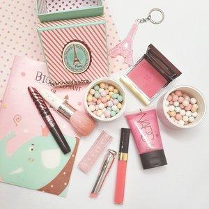 Happy Sunday everyone! #motd #makeuptoday #makeup #clozetteid #pink #guerlain #narsissist #NARS #Tomford #potd