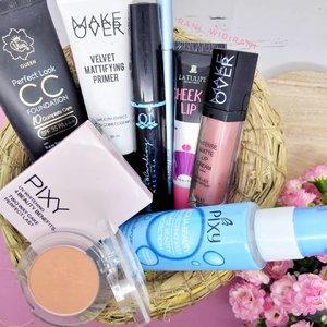 Bangga Indonesia.. produk2 makeup dari merk2 Indonesia sekarang super2 ya 😍😍😍. Uang 300 ribu sudah bisa beli makeup full face, BPOM, yang kualitasnya enggak mengecewakan. #makeup #makeupaddict #makeupjunkie #makeupobsessed #makeupporn #makeupcollection #instamakep #dailymakeup #makeuporganization #blogger #beautyblogger #indonesianbeautyblogger #beauty #instabeauty #blush #fdbeauty #highlighter #bronzer #lipstick #lipstickaddict #lotd #lipstickcollection #motd #makeupoftheday #fotd #makeuplook #makeuplover #makeupmafia #ilovemakeup #clozetteid