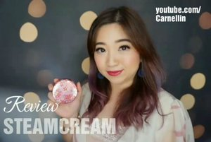 Kinda like the best moisturizer that comes with natural ingredients and works like a charm for those with dry, normal, to even oily skin.  Beauty editors even swore by it.  Full video here:  https://youtu.be/bIyxmDdYBWA  @steamcreamjapan @steamcreamskincare @steamcream_tw  ____________ #ilovesteamcream #steamcream #Japan #Sakura #designed #Cheeryblossom #vlogger #tincan #beautyvlogger #beautyvloggerindonesia #love #vlog #review #youtuber #youtuberindonesia #beauty #skincare #clozetteID #moisturizer