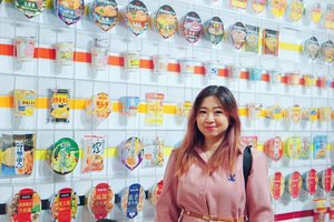 Morning visit to Mamofuku Ando Instant Ramen Museum to see how these babies got so many flavours, type and development over the hundreds of years, yes, hundreds. #museum #mamofukuando #ootd #lotd #motd #Clozetteid #travel #kansai #osaka #Japan #spring2018 #letsgo