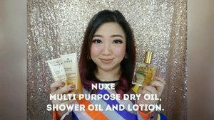 Review for@nuxefranceMulti purpose oil, shower oil and the amazing body creamy lotion, full review here:https://youtu.be/464ep2qxSLs@nuxeindonesia #nuxeparis #nuxe #bodylotion #bodycream #clozetteID #sociolla #essentialoil #love #dryoil #faceoil #hairoil #bodyoil #beautiful #glossyskin #glossyhair #glasshair #gorgeous #skincareroutine