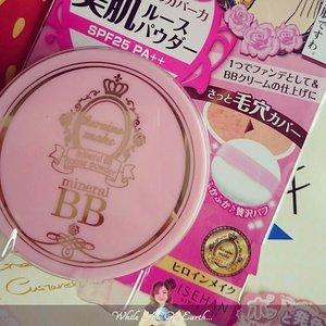 Mineral BB Loose Powder from Heroine Make, perfect for a muggy weather. http://www.whileyouonearth.blogspot.com/2014/12/kiss-me-heroine-make-mineral-bb-loose.html #beauty #review #id #idblog #idbblogger #beautyproducts #beautyblogger #clozetteID #ig #igers #igdaily #instabeauty #instadaily #heroinemake #bb #loose #powder #mineral #mineralpowder #loosepowder #motd #makeup #cosmetic #Japaneseproduct