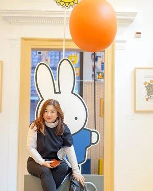 Miffy.. sweet little bunny 😁#traveldiary #brussels #ClozetteID #letsgo #travel #jalanjalan #winterholiday #winteroutfit #ootd #motd #lotd #potd #outfitinspo #carnellinstyle #hello #travelwithCarnellin #miffy #miffymuseum