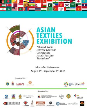 Tomorrow! supporting my friend @sophie_tobelly @torajamelo Asian Textile Exhibition and Indonesian Culture 'Kain' workshopTextile exhibition will be held from 10 Aug - 9 Sept 18 (during the Asian Games period)  Pssst... i will do a lil catwalk during the show at 6pm tomorrow 💃🏻💃🏻 #asiangames #asiangames2018 #asiantextilesexhibition #clozetteid #event #eventjakarta #museumtextile