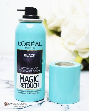 When you're in a rush, and you dont have time to retouch your hair...this Loreal might one your hair solution to try. Lets visit my review on www.Glowlicious.Me.#Loreal #lorealmagicretouch #lorealindonesia #hairstyleholygrail#bloggerlife#indonesianbeautyblogger#bloggerindonesia#photooftheday#tampilcantik#clozetteid#beautyinfluencerindo #caracantik #beautyinfluencer #ragamkecantikan #beautyinfluencerjakarta