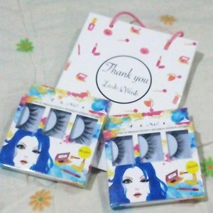 There is one must have for me when it comes to makeup and beauty, i used to be so bad at this, but falsies are always a rescue for me when it comes to eye makeup.Today i bought these pairs and going to try them out ♥♥ @lashnwink @cleo_ind #shopathon #clozettedaily #clozetteid