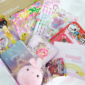 And the winner of @kawaiiboxco giveaway is....... @lithaandr 🎉🎊🎁 Please check your email and reply within 2 days. Congratulation dear 💕  I'm planning to do another giveaway for this Christmas. So, stay tuned 😉  #ClozetteID #kawaiibox