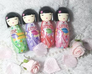 I've been quite obsessed with @ShinzuiUme_idBody Mist lately!  Not only they are uber kawaii to look at, they also smell so good!!! I love to wear them and carry them in my purse (because they are compact enough to bring around and made of plastic so i am not worried about breaking them) so i can touch up and be fresh all day long!  Btw,  don't forget to join Shinzui Ume Body Mist's competition,  there are Mirrorless Camera and shopping vouchers up for grabs for most inspiring stories!  #UmeBodyMist#CompleteYourDay#BlogCompetition #clozetteid #sbybeautyblogger #beautynesianmember #blogger #bblogger #bbloggerid #beautybloggerindonesia #bloggerceria #bodymist #shinzuiume #influencer #beautyinfluencer #allaboutbeauty #beautyblogger #indonesianblogger #indonesianbeautyblogger #surabayablogger #surabayabeautyblogger #allaboutbeauty #beautyaddict #kawaii #kawailife #cute #kawaiipackaging #ume #kawaiiaddict