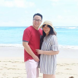 Whether it's the sea, the mountain or the great beyond, everywhere is a great adventure when i am with you ♥️♥️♥️. #pinkinbali #bali #beach#clozetteid #sbybeautyblogger #beautynesiamember #bloggerceria #influencer #beautyinfluencer #jalanjalan #wanderlust #blogger #bbloggerid #beautyblogger #indonesianblogger #surabayablogger #travelblogger  #indonesianbeautyblogger #travelinfluencer #pinkinbali #travel #trip #pinkjalanjalan #bloggerperempuan #holidayfashion #balibeach #pandawabeach #hubbyandwifey #couple #foreverlove