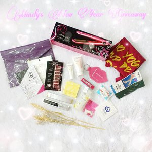 Hey guys!Masih dalam spirit tahun baru dan upcoming Chinese New Year, i am holding another giveaway to celebrate it and to show my appreciation for your support 😘😘😘. Untuk giveaway kali ini hadiah utamanya ada hair straightener lho, plus ada makeup, skin care, nail products, sampe clutch dan planner (total 17 items!) - all for ONE lucky winner 😍! The rules are really easy as usual :1. Follow me (obviously,  and don't unfollow after the giveaway or imma block ya!). 2. ‎Follow @sbybeautyblogger , @_aphrodites_ because if you support me then you gotta support my babies too 😁.3. ‎Tell me your best and worst moment on 2018 and what is your dream/goal for 2019.4. ‎You can only enter using your personal account (not online shop/giveaway account/etc) and make sure it's not locked.5. ‎Tag 3 of your friends and ask them to join this giveaway too.6. ‎Giveaway is open until 12th of April midnight (only for Indonesian resident or at least who owns Indonesian address) and i will announce the winner on Valentine's Day 😍😍😍. Good luckkk! #giveaway #giveawayindonesia #giveawayid #bagibagihadiah #hadiahgratis #makeupgratis #giveaways #clozetteid #catokan  #catokangratis #infogiveaway #sbybeautyblogger #bloggerceria #beautynesiamember #blogger #bblogger #bbloggerid #beautybloggerindonesia #beautybloggerid #influencer #beautyinfluencer #makeup #beauty #freeproducts #fashion #bloggerperempuan #produkgratis #gratisan