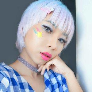 Full makeup #lotd pink lips di posting sebelumnya 😁 baca selengkapnya ttg #makeuplook ini di #linkinbio 💄💋..#radenayublog #beautybloggerindonesia #setterspace #hudabeauty #ragamkecantikan #inspirasicantikmu #nyxcosmeticsid #fentyface #fentybeauty #clozetteid #kawaiimakeup