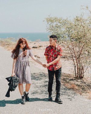 I knew you were the one, when you walked into my chaos and never left. ~ . . 📷 @sheerss_id @zakhrihrp  #sheersshari . . . . . . . #clozette #clozetteid #portrait #travel #sumba #exploresumba #lifestyle #wonderfulindonesia #ntt #sumbatimur #teotfw #preweddingsumba #sumbaprewedding #thebrideideas #thebridestory #thebridebestfriend