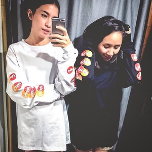 NN BABE 🖤 Major throwback with one of my best betch.  #PennyJakarta #Pennybabes #streetwearbrand #clozetteid
