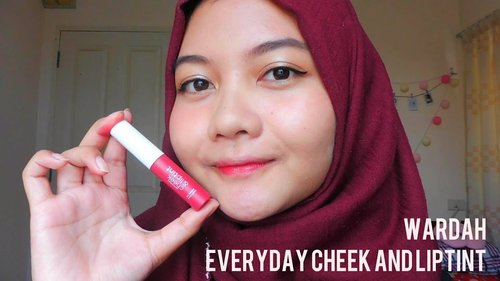 "<div class=""photoCaption"">Daily Makeup Tutorial with Wardah Everyday Cheek Liptint 01 Red, Set, Glow! | Santi Gusti - YouTube</div>"