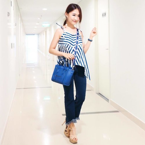 """<div class=""""photoCaption"""">I can't remember how many times I had long weekend within April-June 😅. This is my current favorite top by @label8store 💙</div>"""