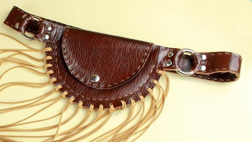 """<div class=""""photoCaption"""">5 DIY Leather Accessories - YouTube</div>"""
